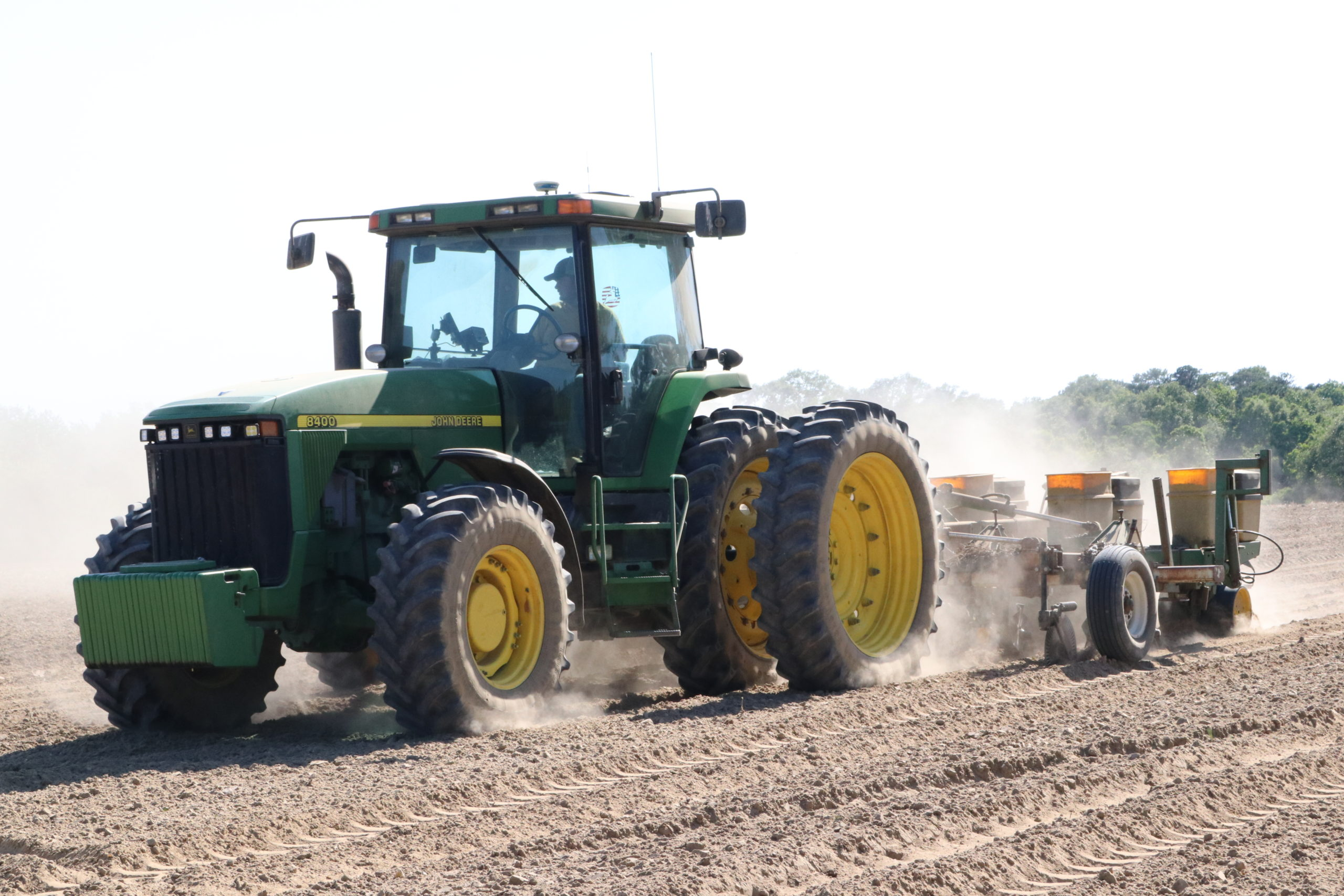 USDA TO SURVEY FARMERS' PLANTING INTENTIONS FOR 2021